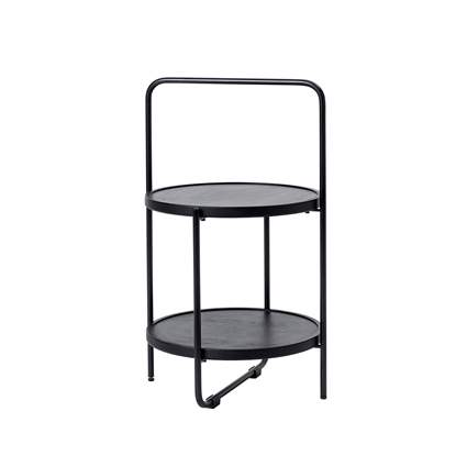 Mini Tray Table - Ø36 cm - black